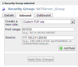 NAT-Securitygroup